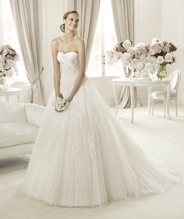 16 besten Pronovias Bridal Wear Current Fashion Demand Outfits 2013 ...