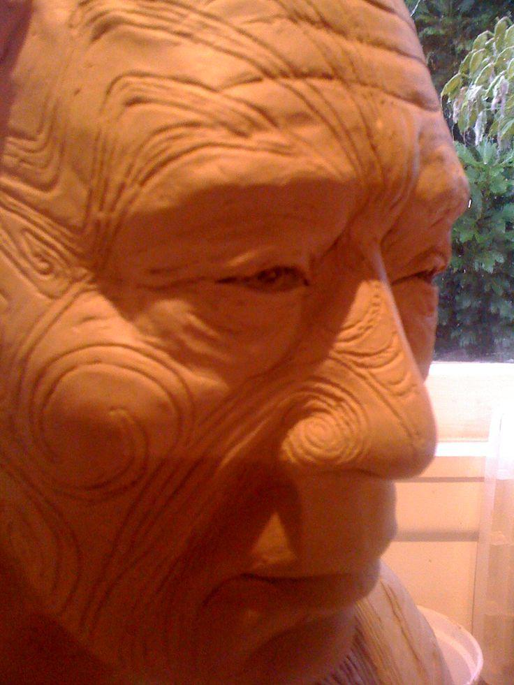 "Work in progress "" Maori Man"" by Emmi"
