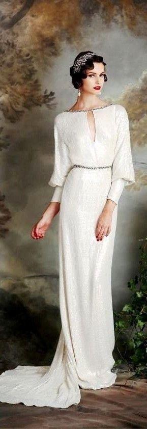 #White #Gown #EveningDress #Dresses