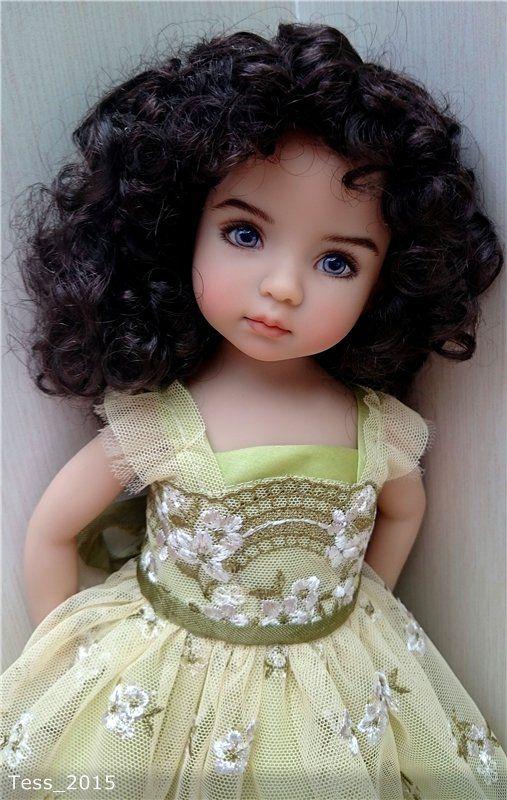 Кругом пестреет мир зеленый... мой нежный цветок Эмили от Дианны Эффнер / Другие коллекционные куклы / Бэйбики. Куклы фото. Одежда для кукол