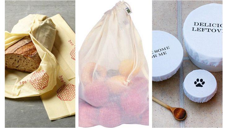 Økovennlig og plastfri oppbevaring av mat - Økologisk