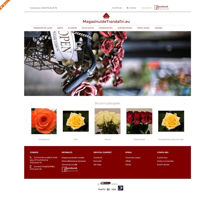 Magazin Online Importator Trandafiri Bucuresti - magazinuldetrandafiri.eu
