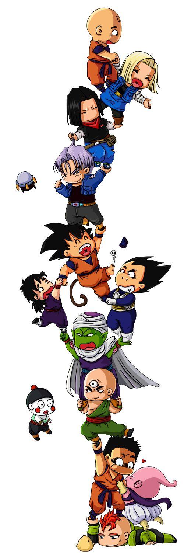 Chibi Dragon Ball Z Goku Dragon ball z chibi goku gohan http://amzn.to/2rVRWSM