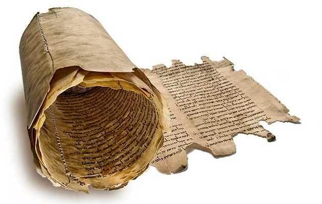 La Biblia - Rollo Pergamino