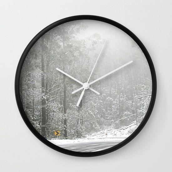 Down the Summit Wall Clock