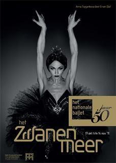 Het Nationale Ballet - Zwanenmeer 2011 - Affiche klein
