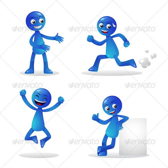 Blue Person Activity 1