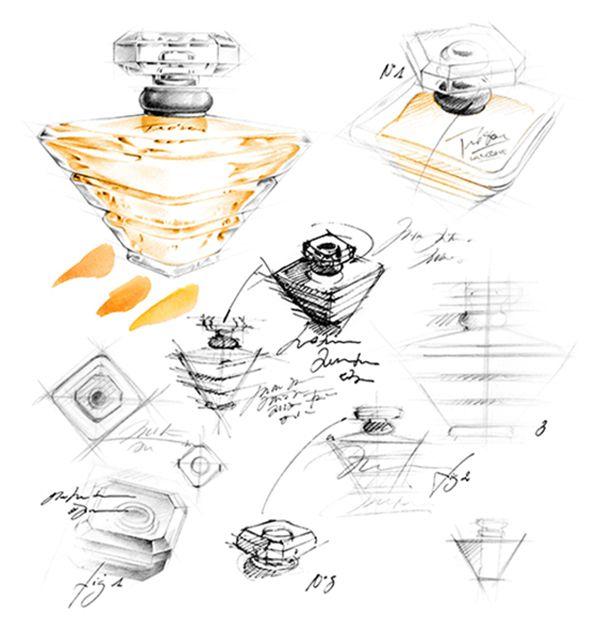 illustration flacon parfum Lancome Florence Gendre