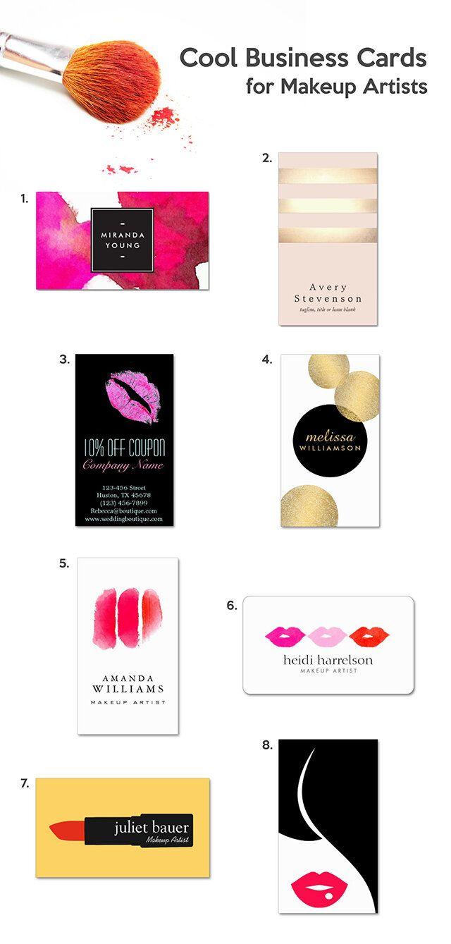 Cool Business Cards For Makeup Artists Badass Creatives Makeup Artist Business Cards Makeup Artist Business Cards Design Makeup Artist Business
