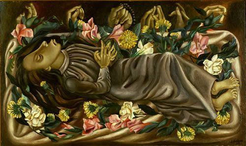 Juan Soriano, The Dead Girl, 1938