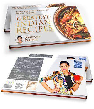 The Recipe Book by Anupama Paliwal - Order Page