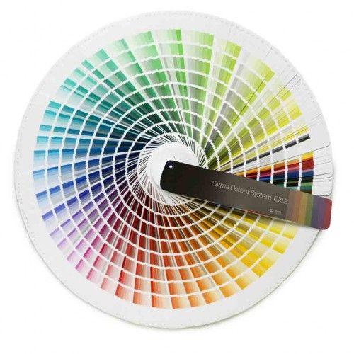Sigma Colour System C21.3 - kleurenwaaier