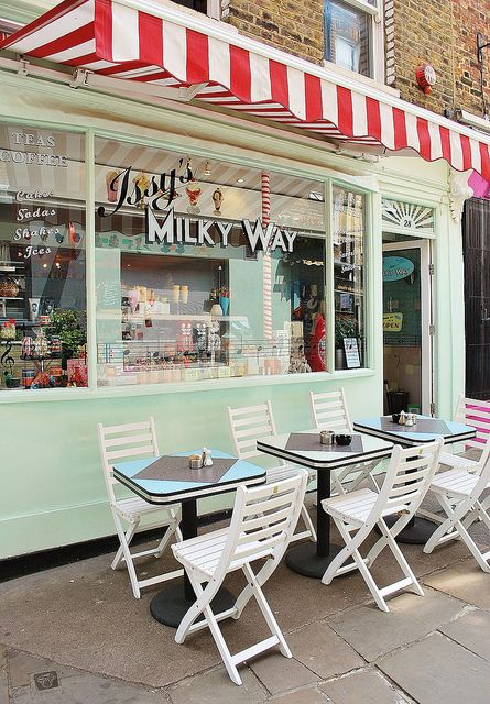 Issy's Milky Way | Islington, London >>Will have to go here on our next visit to London...!