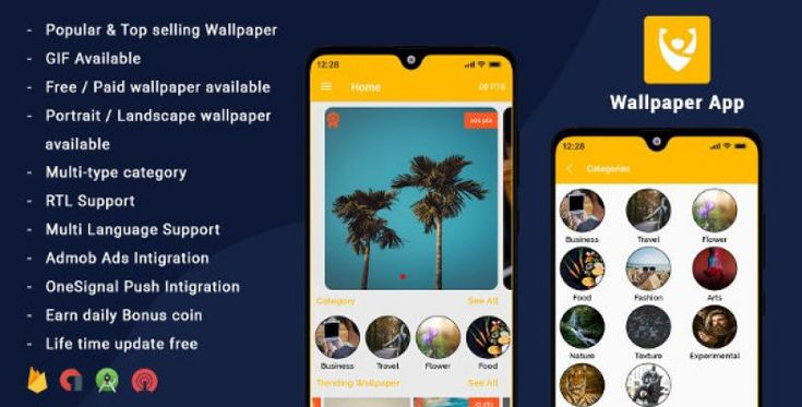 Android Wallpapers App (HD, Full HD, 4K, Ultra HD ...