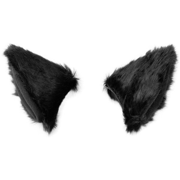 BAOBAO Cat Fox Long Fur Ears Hair Clip Headwear Cosplay Halloween... ($8.99) ❤ liked on Polyvore featuring costumes, fox halloween costume, cat costumes, role play costumes, fox costume and cosplay costumes