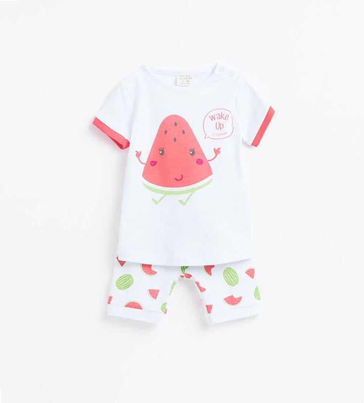 Two-piece watermelon pyjama set-View all-BABY GIRL ...