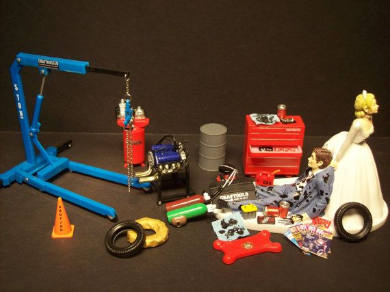 AUTO MECHANIC Tool Set w/ FORD 302 v8 Engine & Stand by mikeg1968
