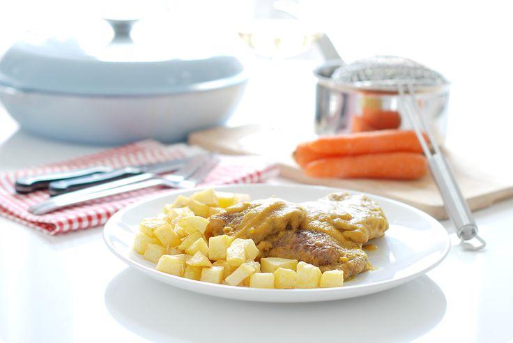 Filetes de ternera en salsa, una receta clásica y que es otra forma de que unos filetes empanados queden jugosos y se salgan de lo simple.