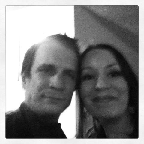 """I finally met him at the Premiere of """"La confrérie des larmes"""" in Paris - 07/10/2013"""
