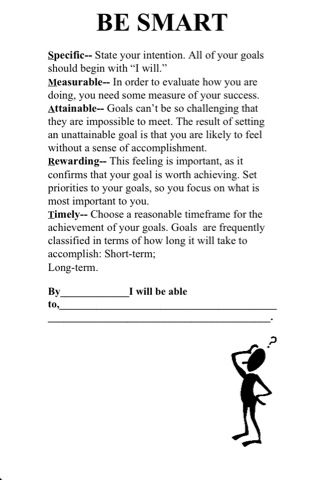 86 best goal setting images on Pinterest Cooperative learning - smart goals template