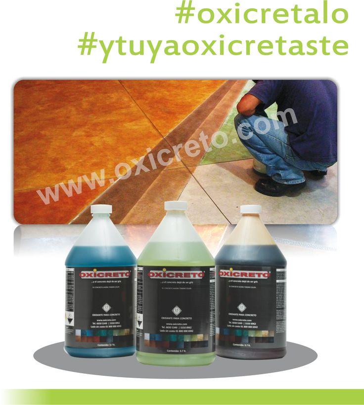 oxidantes para concreto, acabados, recubrimientos, pisos de concreto, color para…