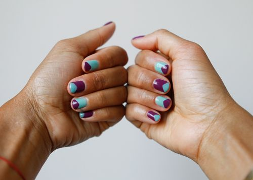cute nails!Mama Manicures, Nails Art, Cute Nails, Essie Turquoise, Nails Jpg 500 357, July 2012, Colors Codes, Manicures Inspiration, Bahamas Mama