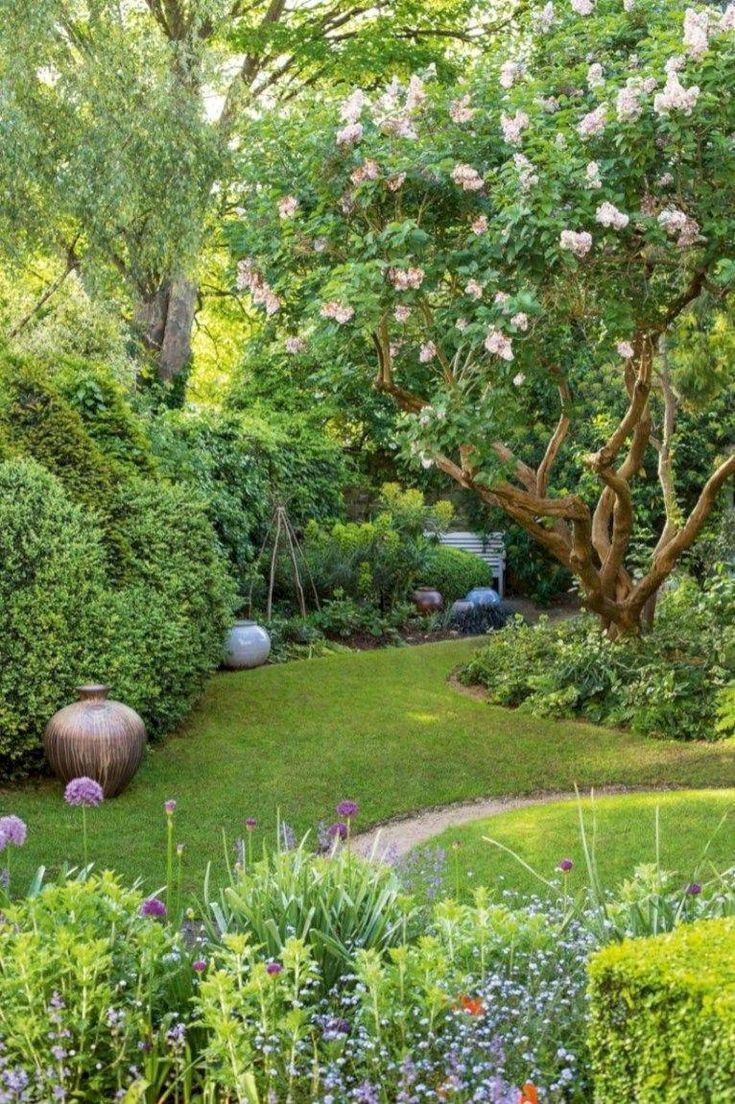 Kleiner Garten für kleine Gartenideen 09 # Landschaftsgestaltung #Garten #Hinter …   – Garten Dekoration