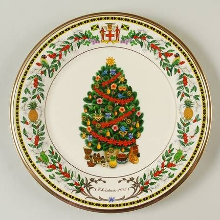 Lenox 2013 Trees Around The World Jamaica Decorative Plate u003eu003eu003e Trust me this is great!  sc 1 st  Pinterest & 24 best Lenox Trees Around The World Plates images on Pinterest ...