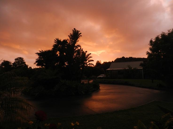 A magnificent sunset at Matakana Country Lodge  #matakana #lodge #sunset