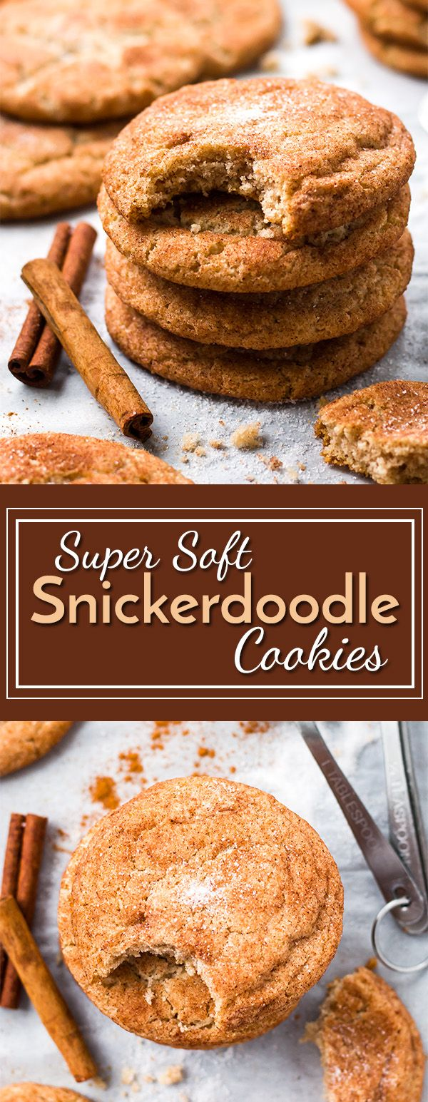 Gluten free snickerdoodles that are melt-in-your-mouth soft!!  Sugar cookies get coated in a sweet cinnamon-sugar coating for the perfect gluten free dessert.