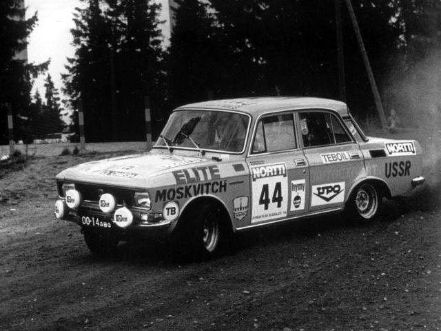 Moskvitch 1600 Rallye '1976
