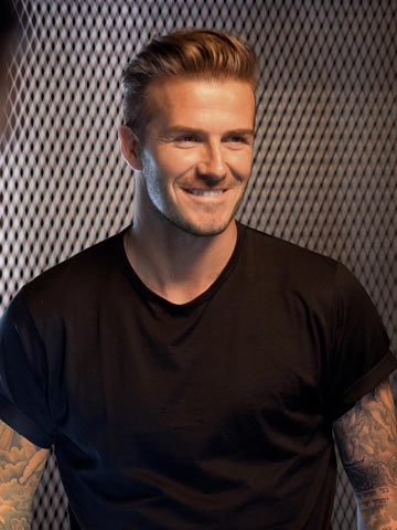 NEW PICTURES David Beckham shares sexy behind-the-scenes snaps from new perfume campaign - photos | Beauty news | Now Magazine