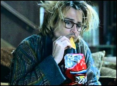 hahaha the best part of Secret Window is his hair