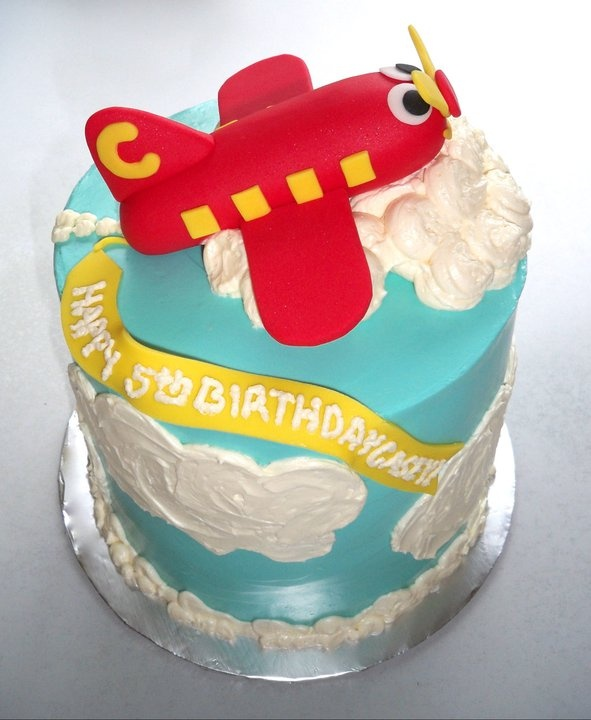 Butter Fondant Cake