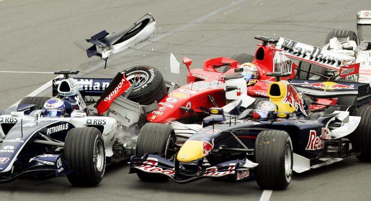 2006 Williams FW28, Nico Rosberg; 2006 Red Bull RB2, Christian Klein; 2006 Ferrari 248 F1, Felipe Massa. Australian Grand Prix [3681x2000]