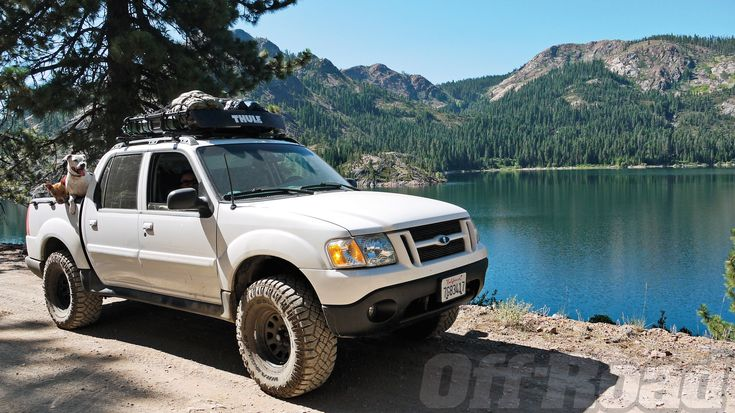 lifted ford explorer sport trac - Google Search
