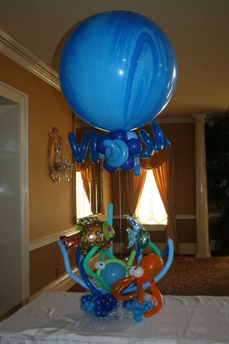 Best balloons under the sea images on pinterest