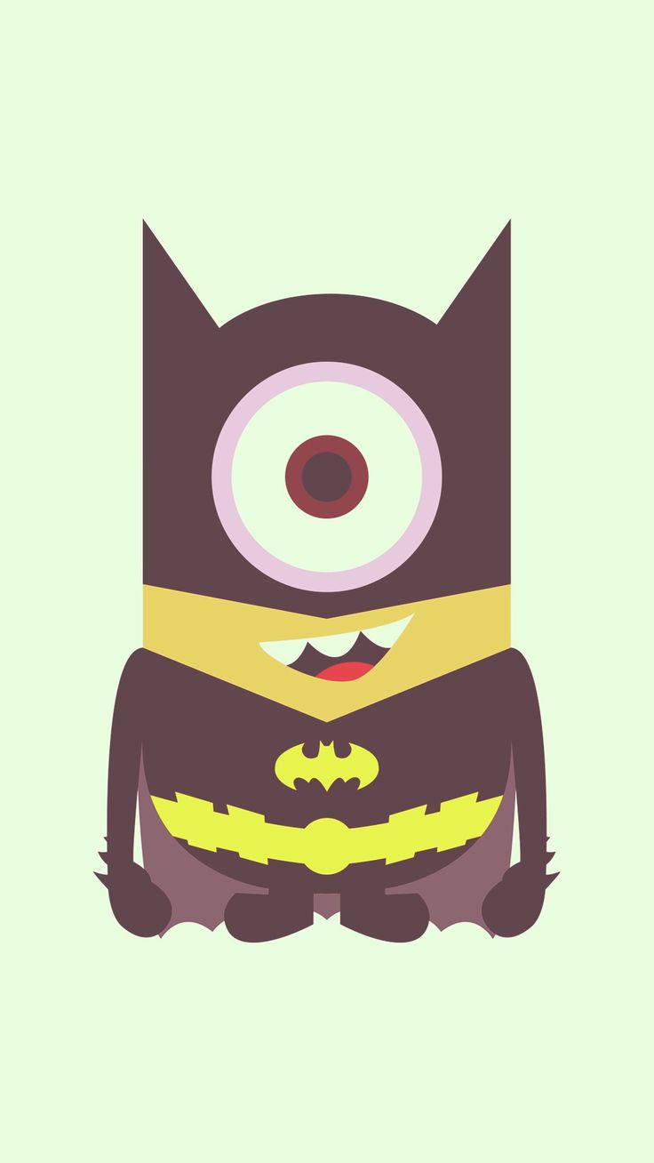Tumblr iphone wallpaper minions - Cool Bat Man Minion Iphone 6 Plus Wallpaper Despicable Me 2014 Halloween 2014