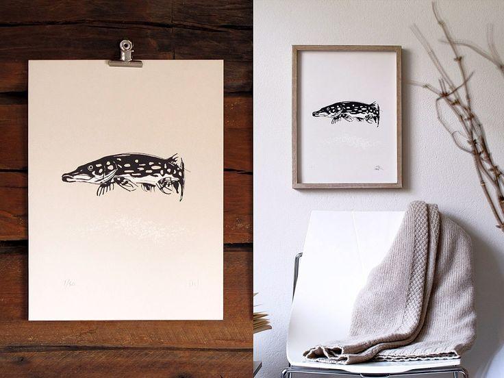 Pike Art Print - Teemu Järvi