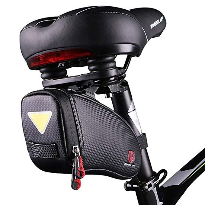 Camgo Bike Wedge Saddle Bag Mountain Road Bike Seat Pack Bag