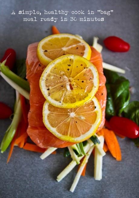 Salmon En Papillote (Salmon In Paper Parcels)