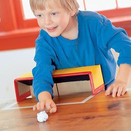 Paper Ball Soccer - Let your fingers do the kicking -- and passing and trapping -- in this tabletop version of the world's favorite game.