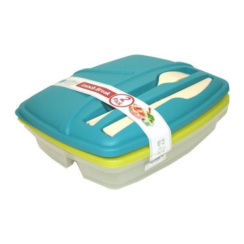 Bramli Lunch Kit, 2-Pack - for picnics at the park!