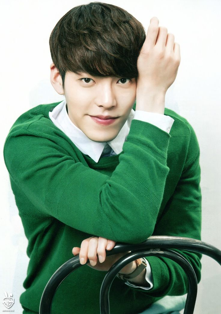Kim Woo Bin on Haru Hana magazine