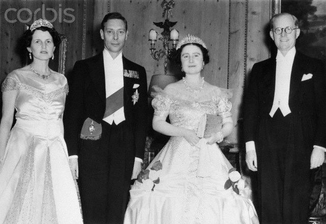 george vi and queen mother joe and rose kennedy | Rose Kennedy, King George VI, Queen Elizabeth, the Queens mother and ...