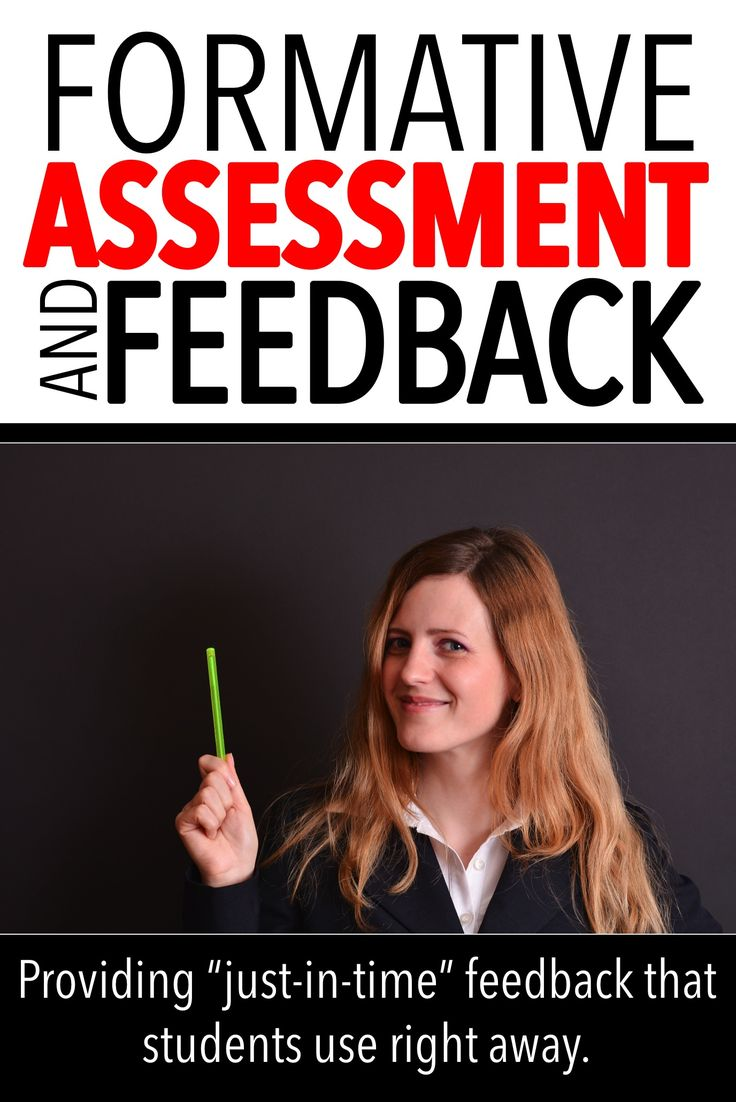 "FORMATIVE ASSESSMENT AND FEEDBACK: formative assessment is a necessary part of a student's learning. This post looks at ways to give it to them ""just in time"""