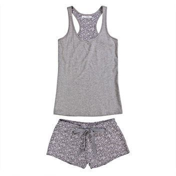 Womensecret. Pijamas Pijama corto de algodón: