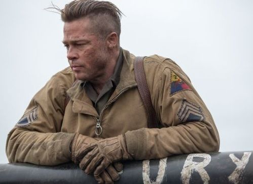 Brad Pitt Fury saç modeli