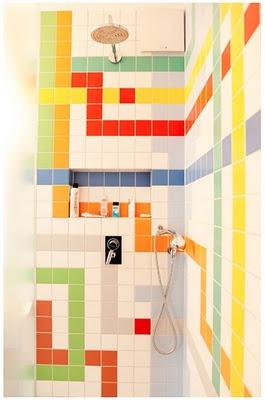 The Selby Tetris Bathroom