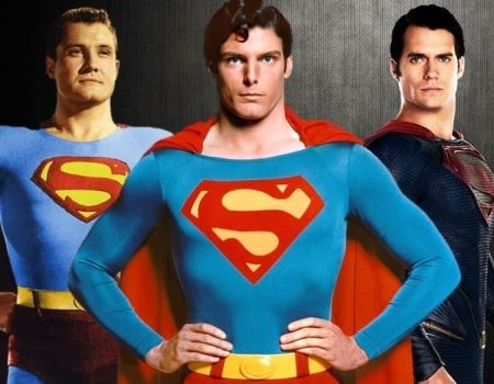 Top 3 Superman ActorsGeorge ReevesChristopher Reeve And Henry Cavill